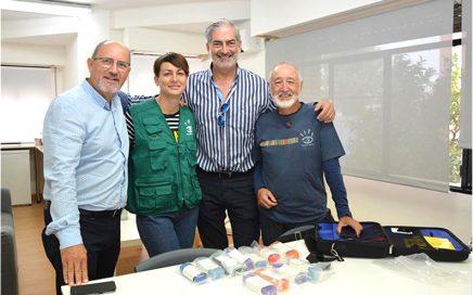 Balearia, Visió Sense Fronteres y Aportem completan otra campaña oftalmológica en el Marítimo