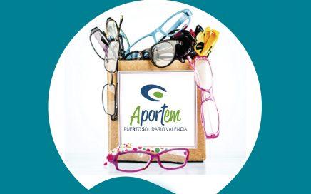Aportem lanza una nueva campaña de donación de gafas